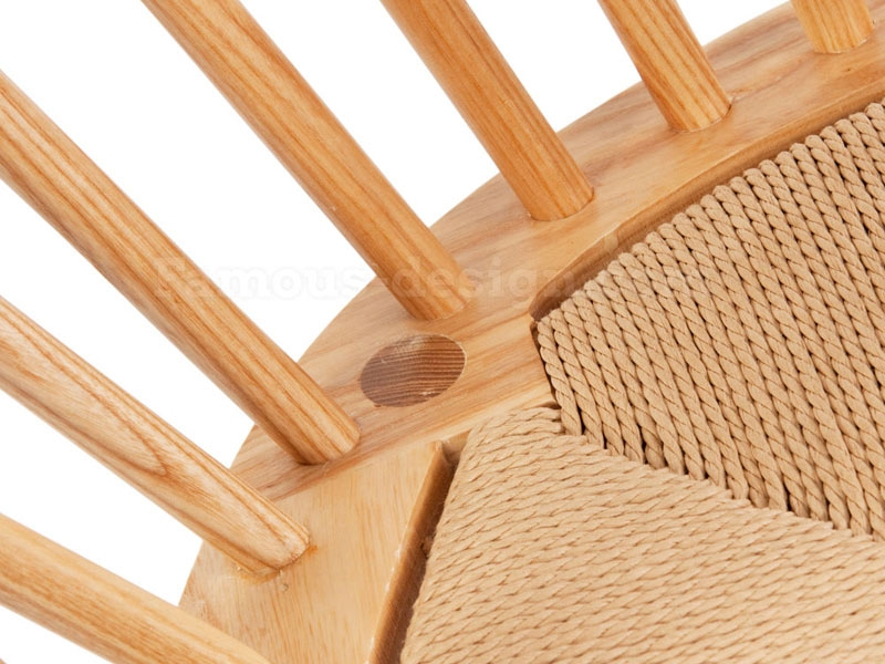 Image of the design chair Wegner Chair Peacock