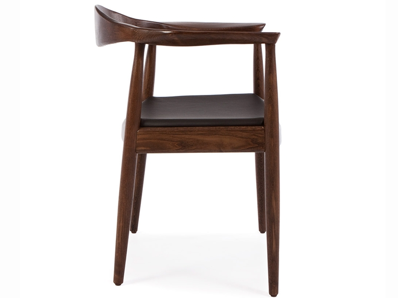 Image of the design chair Wegner The Chair - Brown/Black