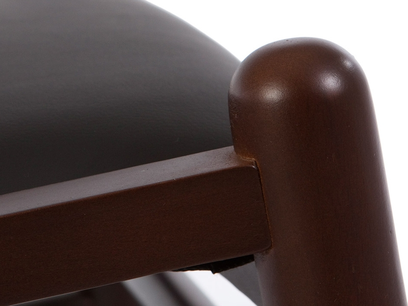 Image of the design chair Wegner Wishbone Chair Y - Brown/Black