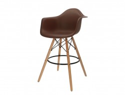 Image of the design chair Bar chair DAB - Brown