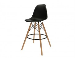 Image of the design chair Bar chair DSB - Black