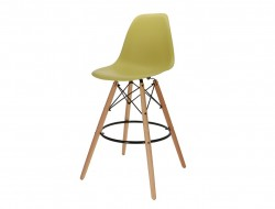 Image of the design chair Bar chair DSB - Olive green