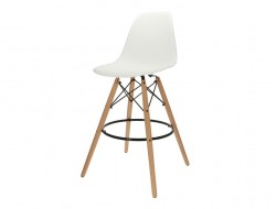 Image of the design chair Bar chair DSB - White