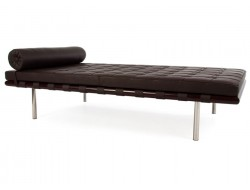 Image of the design chair Barcelona Day bed 198 cm - Dark brown