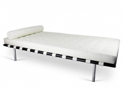 Image of the design chair Barcelona Day bed 198 cm - White