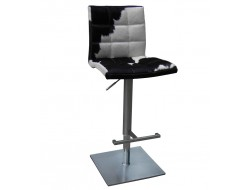 Image of the design chair Barstool Deco10 - Black/ white