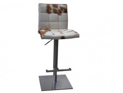 Image of the design chair Barstool Deco10 - Brown/ white