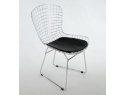 Image of the design chair Bertoia Wire Side Chair - Black