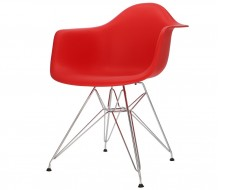 Image of the design chair DAR chair - Bright red