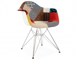 Image of the design chair DAR chair padded - Patchwork