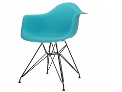 Image of the design chair DAR chair - Turquoise