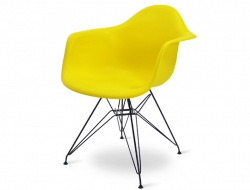 Image of the design chair DAR chair - Yellow lemon