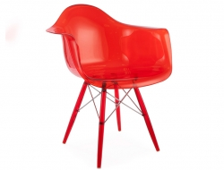 Image of the design chair DAW chair All Ghost - Red