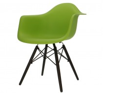Image of the design chair DAW chair - Apple green