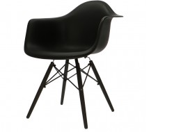 Image of the design chair DAW chair - Black