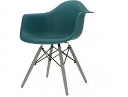 Image of the design chair DAW chair - Blue green