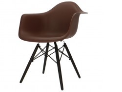 Image of the design chair DAW chair - Brown