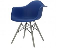 Image of the design chair DAW chair - Dark blue