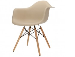 Image of the design chair DAW chair - Grey beige