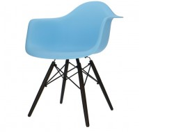 Image of the design chair DAW chair - Light blue