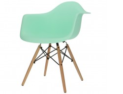 Image of the design chair DAW chair - Mint green