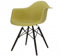 Image of the design chair DAW chair - Olive green
