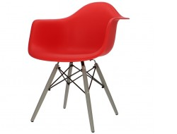 Image of the design chair DAW chair - Red