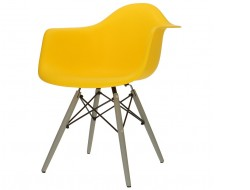 Image of the design chair DAW chair - Yellow