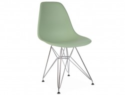 Image of the design chair DSR chair - Almond green