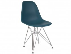 Image of the design chair DSR chair - Blue green