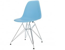 Image of the design chair DSR chair - Light blue