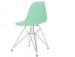 Image of the design chair DSR chair - Mint green