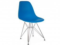 Image of the design chair DSR chair - Ocean blue