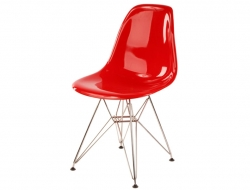 Image of the design chair DSR chair - Red shiny