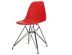 Image of the design chair DSR chair - Red