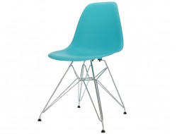 Image of the design chair DSR chair - Turquoise