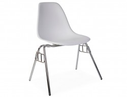 Image of the design chair DSS chair stackable - White