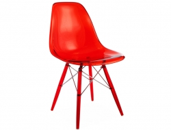 Image of the design chair DSW chair All Ghost - Red