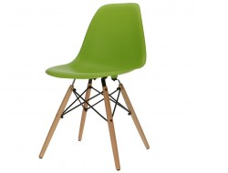 Image of the design chair DSW chair - Apple green