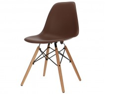 Image of the design chair DSW chair - Brown