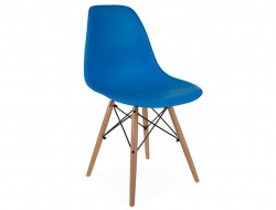 Image of the design chair DSW chair - Ocean blue