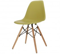 Image of the design chair DSW chair - Olive green