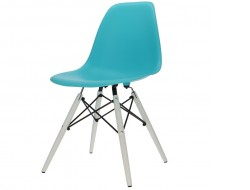 Image of the design chair DSW chair - Turquoise