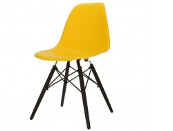 Image of the design chair DSW chair - Yellow
