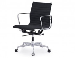 Image of the design chair Eames chair Alu EA117 - Anthracite