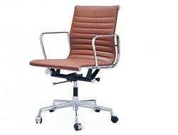 Image of the design chair Eames chair Alu EA117 - Cognac