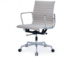 Image of the design chair Eames chair Alu EA117 - Grey beige