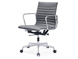 Image of the design chair Eames chair Alu EA117 - Grey