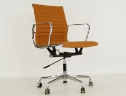 Image of the design chair Eames chair Alu EA117 - Havana