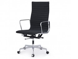 Image of the design chair Eames chair Alu EA119 - Anthracite